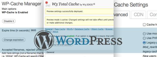 плагины кэширование wordpress