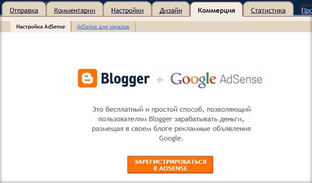 бесплатная блог платформа Blogger