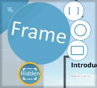 обзор кнопки frame в prezi.com