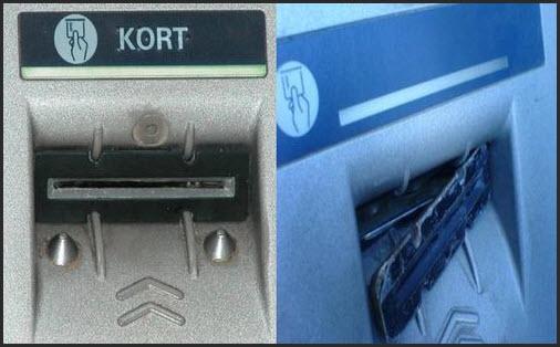 скиммер на банкомате
