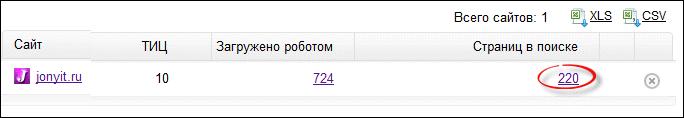 proverka indeksacii sajta