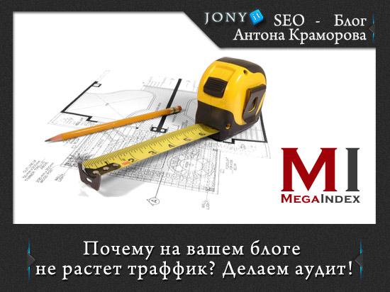 Бесплатный онлайн аудит сайта от мегаиндекс